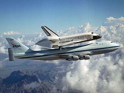 Shuttle-Huckepack